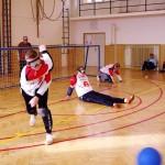Goalball je náročná hra