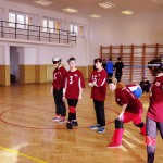 Rozcvička před zápasem