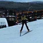 Petr Fábera na lyžích