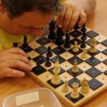 Eda hraje šachy