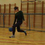 Malé poskočení při nápřahu s míčem